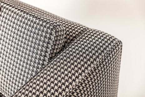 designový nábytek, potahová látka Mono Jet Black