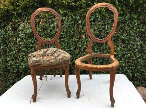 Židle Biedermeier